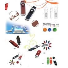 USB Flash Drive w / capa de couro falsificado (12D02001)