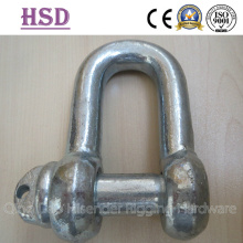 DIN82101 Shackle, D Type Pin Type Form a Drop Forged