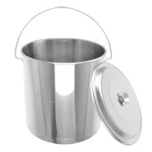 Cubeta de água reta de aço inoxidável