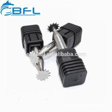 Moinho de extremidade do T-Entalhe do carboneto de BFL-Tungstênio / ferramenta de trituração contínua do T-Entalhe do carboneto / cortador entalhe de madeira