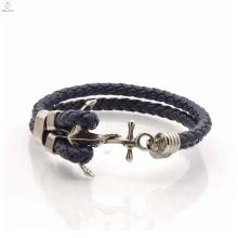 Nouvelle arrivée fashion ancre simple hommes personnalisé bracelet