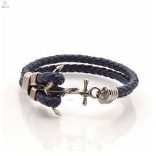 New arrival fashion anchor homens simples pulseira personalizada