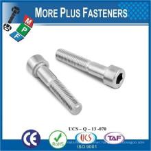 Made in Taiwan DIN 912 Hexagon Socket Head Cap Screw Hex Head Screw Allen Key Tapered Socket Cap