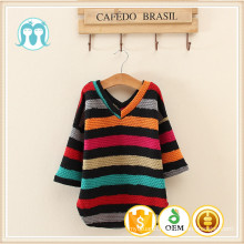 New design kids sweater/children girls sweater for autumn