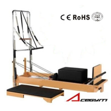 Trapézio Pilates Equipamento Pilates Half (com Box e Junmping Board e Cinco Springs Included)