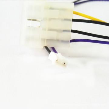 Chicote de fios do conector elétrico de 4 pinos