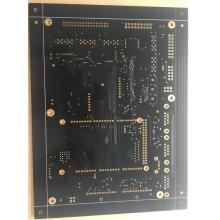 Good Quality for 6Layer Via In Pad PCB 4 layer FR4 1.6mm 1OZ black solder ENIG PCB export to South Korea Importers