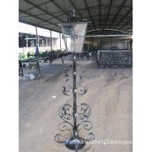 Garden cast iron lamp post