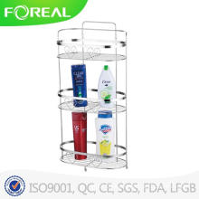 2015 New Model Chrome Plating 3-Tiers Bathroom Towel Shelf