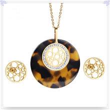 Accessoires de mode Bijoux fantaisie Ensembles de bijoux en acier inoxydable (JS0251)