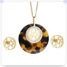 Fashion Accessories Fashion Jewelry Stainless Steel Jewelry Sets (JS0251)