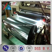 20 micron 80 gauge Aluminium Metallic CPP film For Flexible Packaging