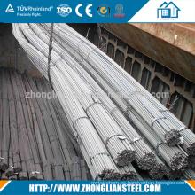 ASTM a615 g40 g60 barra de refuerzo de hierro deformado