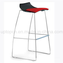 Well-Designed Counter Low Back Black Leather High Bar Chair (SP-UBC236)