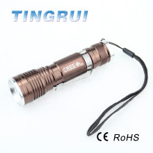 Long Beam T6 Led Super Capacity Torch Led Flashlight