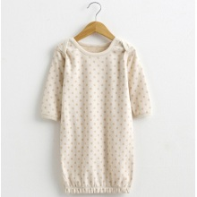 Organic Cotton Lovely Baby DOT bedruckte Pyjamas