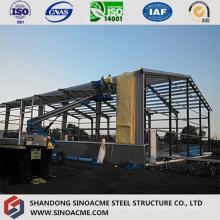 Structure en acier économique pour entrepôt mobile