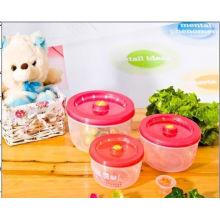 2015 alimento quente útil Contatier plástico da venda com tampa
