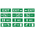 Выхода знак, аварийное освещение, светодиодные чрезвычайных выхода знак, выход света, светодиод выхода знак