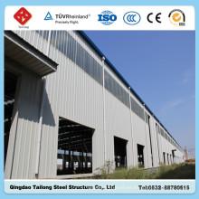 Buen diseño de marco de acero ligero prefabricado Warehouse