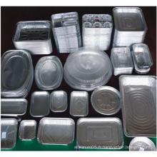 Conteneur Ménage Aluminium / Aluminium Foil pour aliments 8011, 1100, 1235 O
