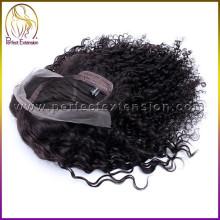 china loja online top barato vender peruca de cabelo humano laço de renda suíça