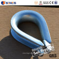 Stamping Galvanized Wire Rope DIN 6899b Thimble