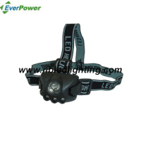1W + 3PCS LED Head Torch for Camping, Outdoor, 3xaaa (HL-1014)