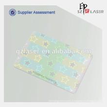 Hologram design for student id card holder, plastic pet material