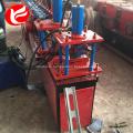 Zinc steel rolling shutter door frame forming machine