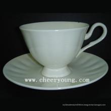 Taza y plato (CY-B545)