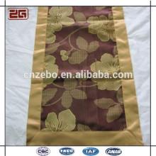 La venta caliente y la cama de la alta calidad fijaron la bandera de la cama adornaron la bufanda de la cama del hotel