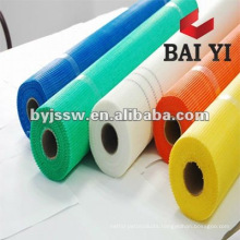 Adhesive for manufacturing limestone mosaic tiles on fiberglass mesh