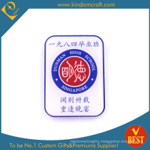 Personal Design Printed Stainless Steel Souvenir Pin Badge From China