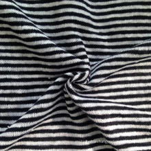 Linen Knitted Stripe Fabric (QF14-1546-SS.)
