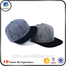 flat brim snapback cap maker