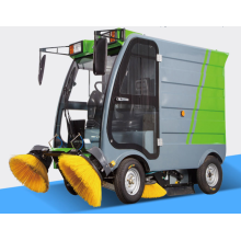 Pure electric road sweeper