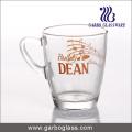Decal Glass Mug/Cup, Printed Glass Mug/Cup, Imprint Glass Mug (GB094211-2-QT-111)