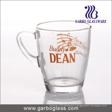 Decal Glass Mug/Cup, Printed Glass Mug/Cup, Imprint Glass Mug (GB094211-2-QT-111)