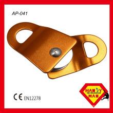 AP-041 Aluminum Rotating Side Single Pulley