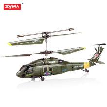 SYMA S102G RC mini helicóptero 3.5ch helicóptero de giro de metal
