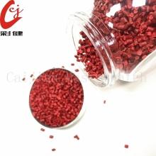 Gránulo plástico rojo de Masterbatch del PVC