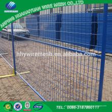 Angemessener preis: zu installieren und zu zerlegen leicht umweltfreundlich pvc temporäre zaun