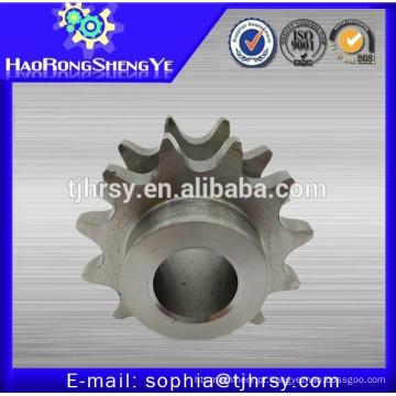 Roda dentada de corrente duplex de aço inoxidável