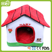 Lovely Cotton Fabric Pet House (HN-pH566)