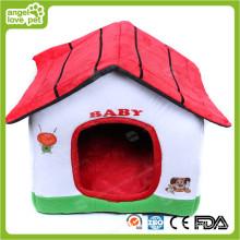 Прекрасный дом для домашних животных из хлопчатобумажной ткани (HN-pH566)