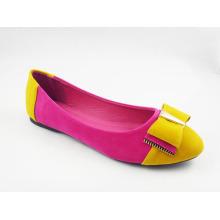 Zapatos planos del vestido de las nuevas mujeres del estilo (HCY03-124)
