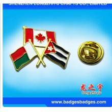 Flaggen-Abzeichen Combinational Contry Flag Freundschafts-Abzeichen