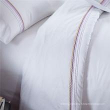 Juegos de cama de hotel de bordado de precio de fábrica (WS-2016316)