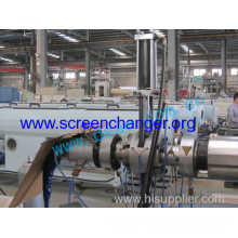 Plate Type Hydraulic Screen Changer/melt Filter For Pp Pipe Extrusion Line